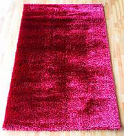 Пушистый ковер бордового цвета   Liza Max
