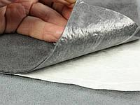 Антискрип М1 Графит  (75х100см), толщина 1.0 мм, прокладочный материал Маделин