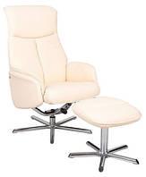 Кресло для руководителя Livio Signal (пуф в комплекте)