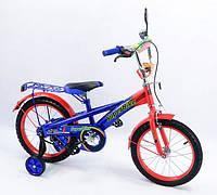 Детский Велосипед «Super Bike» 2-х колесный 16 дюймовые колеса 151604