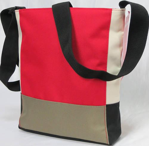 Удобная сумка patchwork на 4,7 л Reisenthel HY 3041-red
