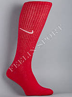 Гетры футбольные красные Найк (Nike)