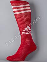 Гетры футбольные красные Адидас (Adidas)