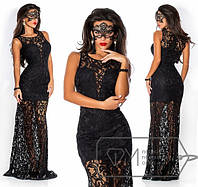 Вечернее платье в пол 336 (3170)