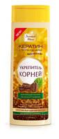 Народные Промыслы, Россия Золотой Шелк шампунь против выпадения волос 400мл