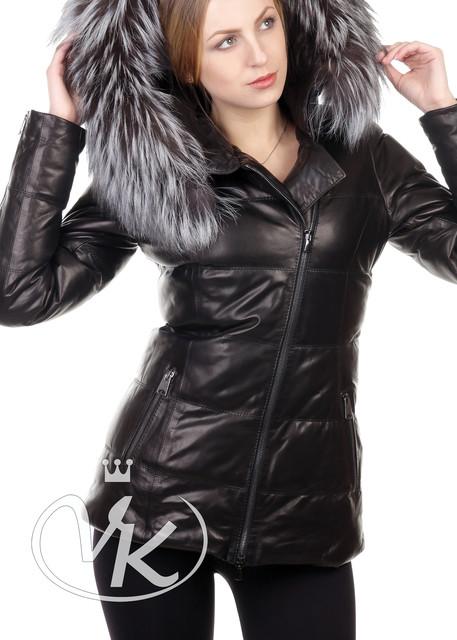 Кожаные куртки с мехом