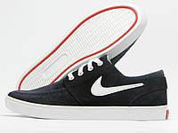 Кеды мужские Nike темно-синие с черным (найк)