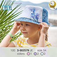 Стильная джинсовая шляпа из новой коллекции TuTu , для девочки. (Размер: 54 )