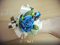 Свадебная бутоньерка на руку NA-2