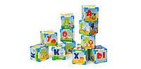 Азбука на кубиках 12 шт У,Р (игровые кубики)