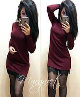Платье с кружевом Ксюша, фото 1