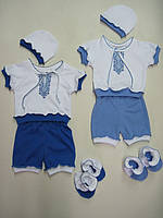 Вышиванка  для мальчика  костюм на 3-9 месяцев