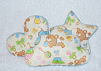 Декоративные подушки тучка, звезда и сердце в детскую