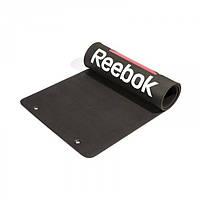 Коврик для гимнастики Reebok Black (RSMT-40030)