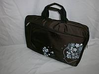 Женская сумка для ноутбука(17 дюймов) и документов