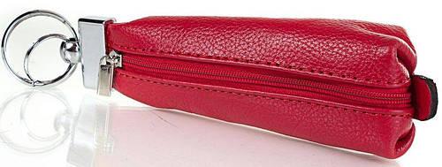 Строгая женская кожаная ключница DESISAN (ДЕСИСАН) SHI200-1 (красный)
