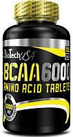 BCAA 6000 BioTech, 100 таблеток