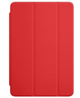 Выразительный полиуретановый чехол Apple Smart Cover для iPad mini 4 диагональю 7.9 (Red) MKLY2ZM/A красный