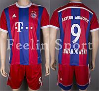 Футбольная форма Бавария Мюнхен Левандовски (Bayern Munchen Lewandowski) 2014-2015 Домашняя