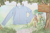 Голубая кофточка для девочки  р-ры 128-152