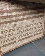 Ковер сизаль, натуральный, безворсовый, прямоугольный, 80х1,5
