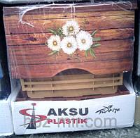 """-Комод пластиковый  """"Дерево с ромашками"""", фирма AKSU. Производитель Турция"""