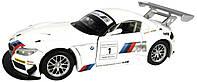 """Коллекционная машинка BMW Z4 GT3 1:24 """"Автопром"""""""