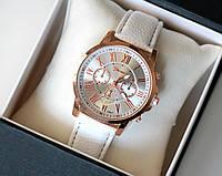 Часы наручные женские Geneva Style белые, магазин часов