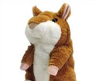 Мега-Хит сезона! Самая смешная игрушка для детей и взрослых, Говорящий хомяк Mimicry pet hamster