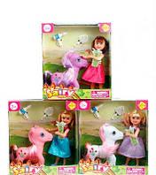 Кукла Defa Lucy с лошадкой пони и аксессуарами