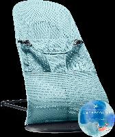 Кресло-шезлонг BABYBJORN Balance soft,Turquoise turtle, Mesh