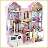 Дом для кукол KidKraft Kensington Country Estate Загородная усадьба дом с мебелью 65242