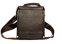 Стильная мужская сумка через плечо+ручка