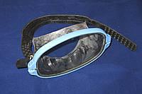 Маска для подводного плавания Акванавт, серая (мягкая резина)