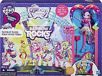 Моя Маленькая Пони Игровой набор Рок-концерт MLP Rainbow Rocks