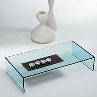 Журнальный столик из стекла Комфит