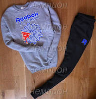Мужской костюм Рибок (свитшот+штаны)