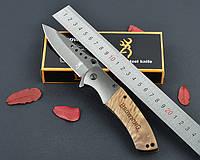 Нож Browning, титановое покрытие, полуавтоматический механизм, ХИТ ПРОДАЖ, подарок для парня