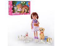 Кукла Барби с собачкой Barbi Defa 8281