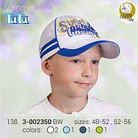Модная бейсболка для мальчика