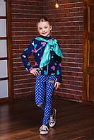 Модная куртка-косуха для девочки