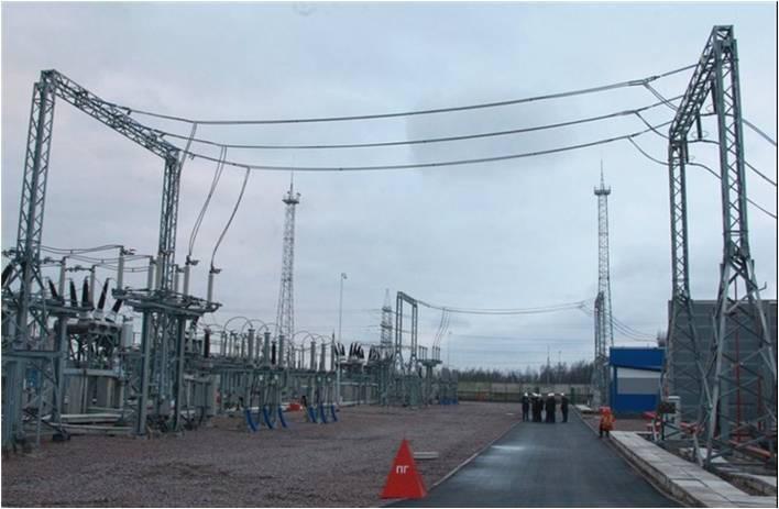 Замена конденсаторов связи на подстанциях 330кВ НЭК УКРЭНЕРГО