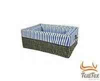 Корзина плетенная для хранения вещей