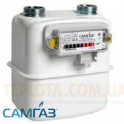 Счетчик газа мембранный САМГАЗ G 2,5 RS-2001-21