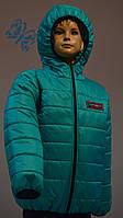 Курточка подростковая демисезонная для мальчика (Размеры: 122, 128, 134, 140)