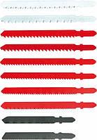 Полотна для электролобзика, набор 10 шт. хвостовик (шт.) VERTO (64H210)