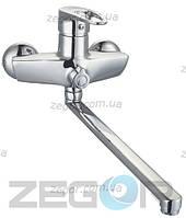 Смеситель для ванны  картриджный Zegor NKE