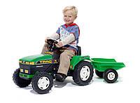 Трактор педальный с прицепом Falk 876A