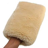 Перчатка для полировки из меха