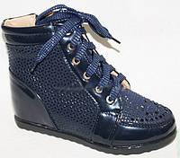Модные ботинки детские для девочки весна осень, 30-37